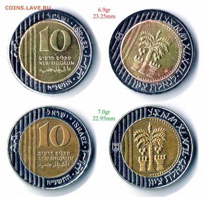 Фальшивые иностранные монеты изготовленные в ущерб обращению - 10shq
