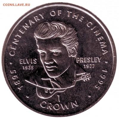 Монета 1 крона, 1996 год, Гибралтар.Монета номиналом 1 крона из серии