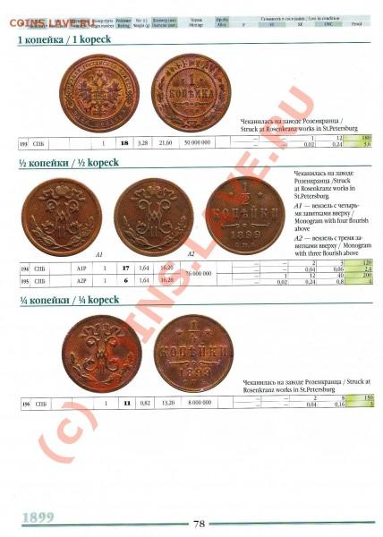2 копейки 1899 года (разновидности по Казакову) - Копия Изображение 190