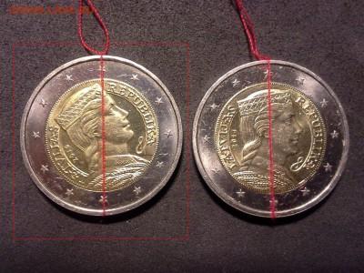 браки на евро монетах - 2e1