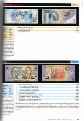 Банкноты мира (UNC) - polymerbook5