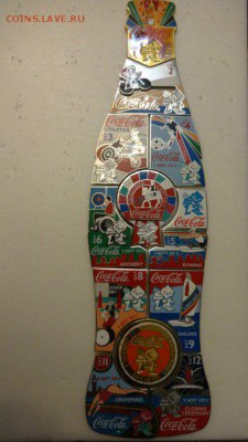 Значки ОЛИМПИАД Сочи, Ванкувер, Лондон, Пекин - бутылка фото пара