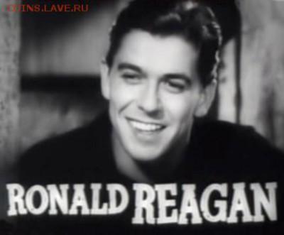 КИНЕМАТОГРАФ на монетах и жетонах - Ronald_Reagan_in_Cowboy_From_Brooklyn_trailer