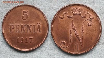 Коллекционные монеты форумчан (регионы) - 5 Penniä 1917