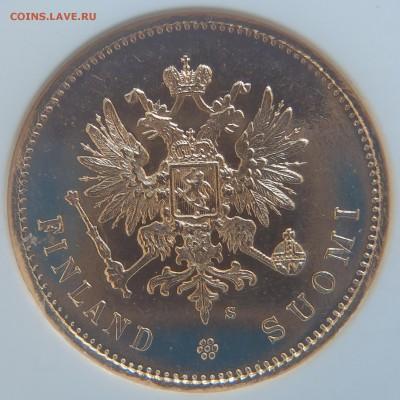 Коллекционные монеты форумчан (золото) - 20markkaa1913MS64DPL (4).JPG