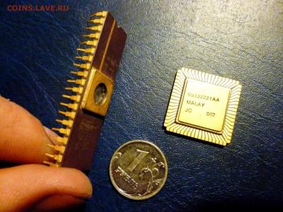 Золотые керамич. процессоры и советские детали с позолотой - P1020115.JPG