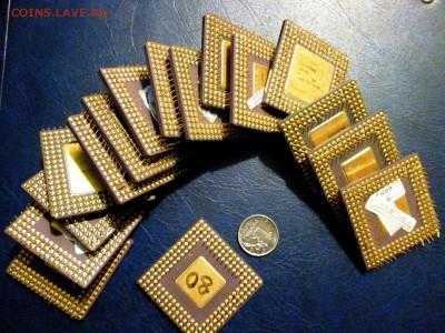 Золотые керамич. процессоры и советские детали с позолотой - P1020117.JPG