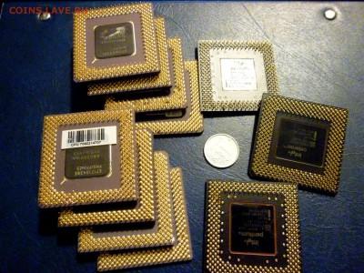 Золотые керамич. процессоры и советские детали с позолотой - P1020118.JPG