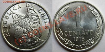 Чили. - 1 centavo 1975