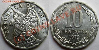 Чили. - 10 centavos 1979
