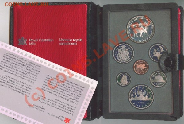 Наборы Канады с серебром - Image10