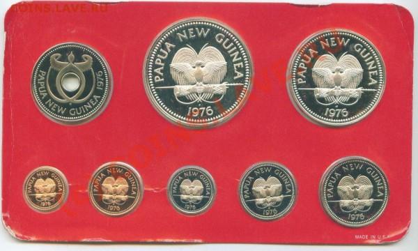 Наборы Папуа Новая Гвинея с серебром ПРУФ - Image6