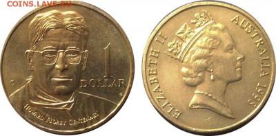 Медицина в нумизматике - Австралия 1 доллар Флори
