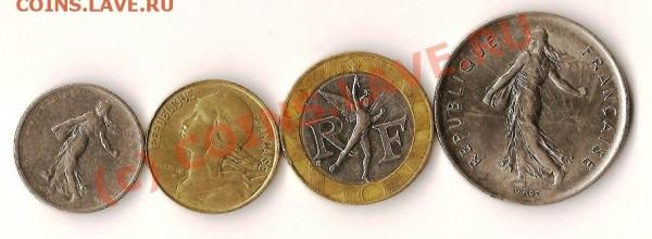 Франция монеты из обращения - Изображение 116