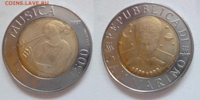 монеты Сан Марино до евро по списку - P1210040.JPG