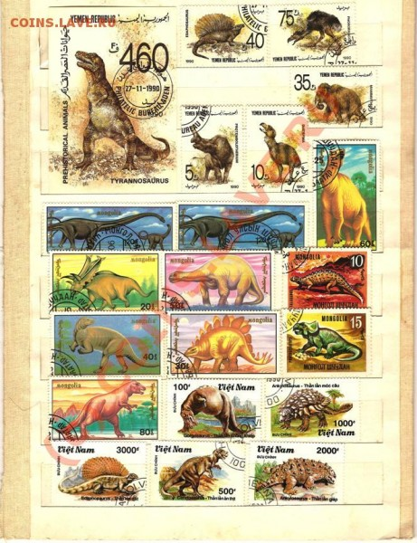 марки почтовые - Изображение 121