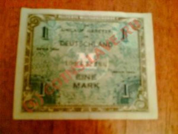 Боны Германия 1,10,20 марок 1944, прошу оценки - 1mark