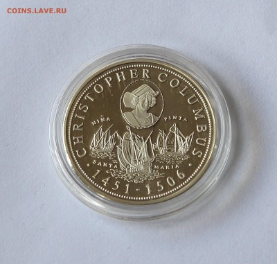 Монеты с изображением парусных кораблей (серебро) - IMG_8086.JPG