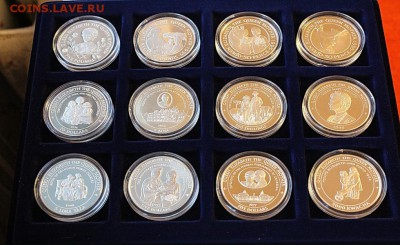 "Коллекция монет ""Королева Елизавета-королева мать"" 1994-1999 - IMG_83011"