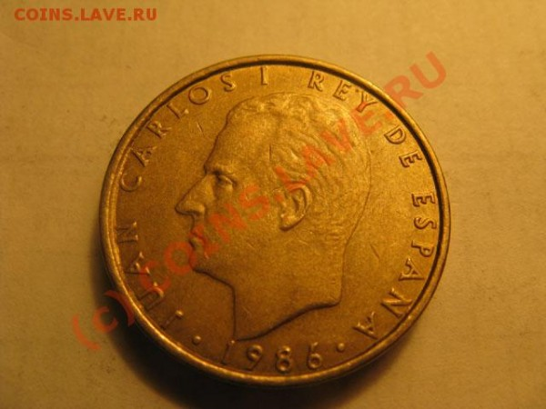 Cien pesetas Испания - IMG_1881