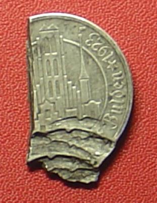моя первая монета в коллекции - 5 гульденов
