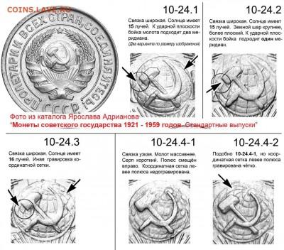10 копеек 1928. Разновидности - 10 копеек 1924-30 - аверсы