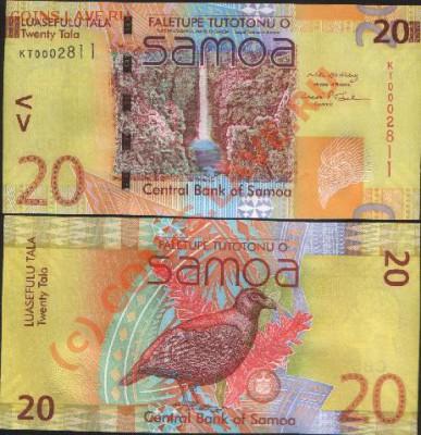 20 Тала Самоа - samoa20tala2008unc