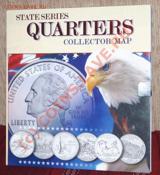 сборник четвертаков США 1999-2008г. - 1