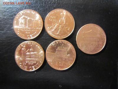 """США - Комплект монет """"Центы Линкольна"""" + бонус 1 цент ЩИТ - IMG_0216"""