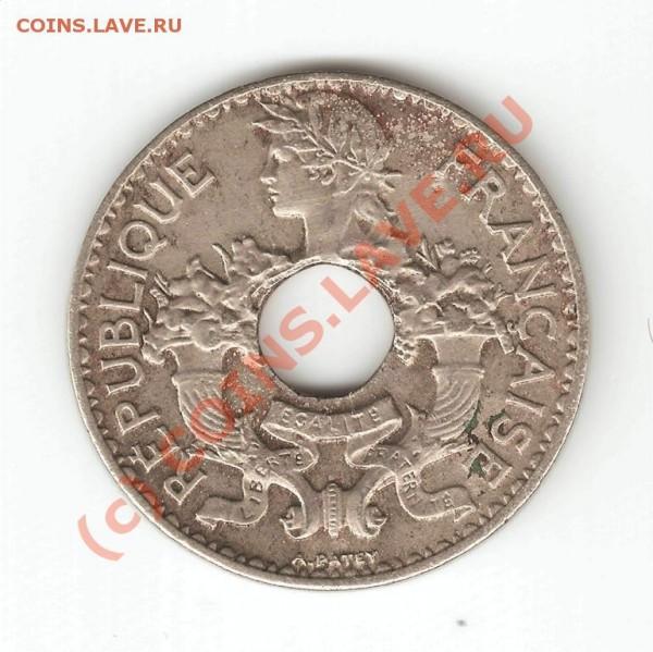 5 cent 1939 indochine francalse - 2l
