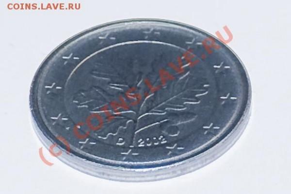 5 евроцентов не покрыты медью, Германия 2002 - 5_1_1