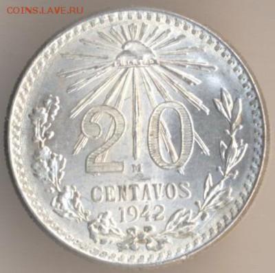 Мексиканские монеты - 19