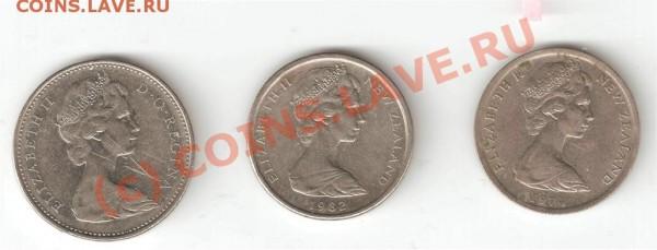 5 cents 1972 а также 1974 и 1982 - 22233333333