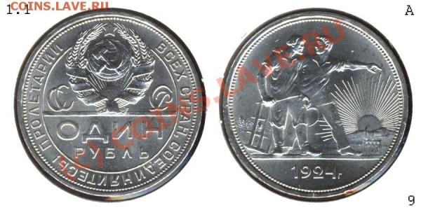 рубли 1924,  интересно узнать мнение об оценке ;) - 100905 - Один рубль 1924