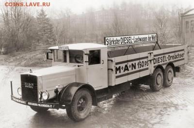 Первый грузовик MAN, далёкий 1903г. - Первый грузовик