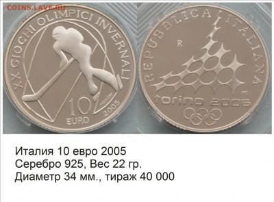 Хоккей на монетах - Италия 2005