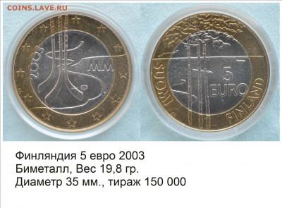 Хоккей на монетах - Финляндия 2003