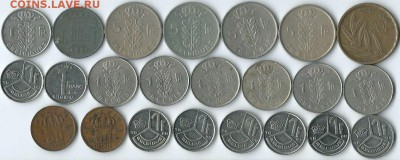 *****Монеты разных стран***** - Бельгия