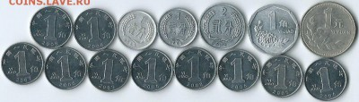 *****Монеты разных стран***** - Китай