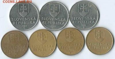 *****Монеты разных стран***** - Словакия-