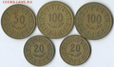 *****Монеты разных стран***** - Тунис