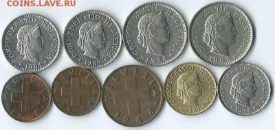 *****Монеты разных стран***** - Швейцария-