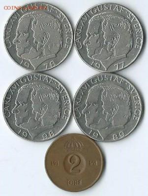 *****Монеты разных стран***** - Швеция