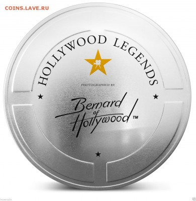 КИНЕМАТОГРАФ на монетах и жетонах - Hollywwod legends-1