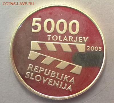 КИНЕМАТОГРАФ на монетах и жетонах - 5000 толлариев 1