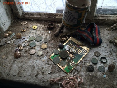 Поиск монет в заброшенных домах - q6-rYAyD-x8