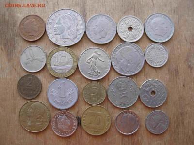 Иностранные монеты разные 60 штук - 11_thumb