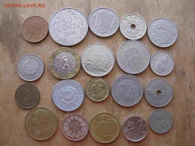 Иностранные монеты разные 60 штук - 12_thumb