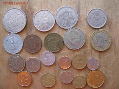 Иностранные монеты разные 60 штук - 23_thumb