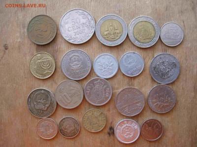 Иностранные монеты разные 60 штук - 33_thumb